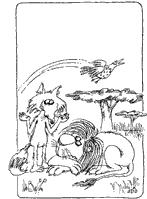 LA  ZORRA  Y  EL  LEÓN  ANCIANO